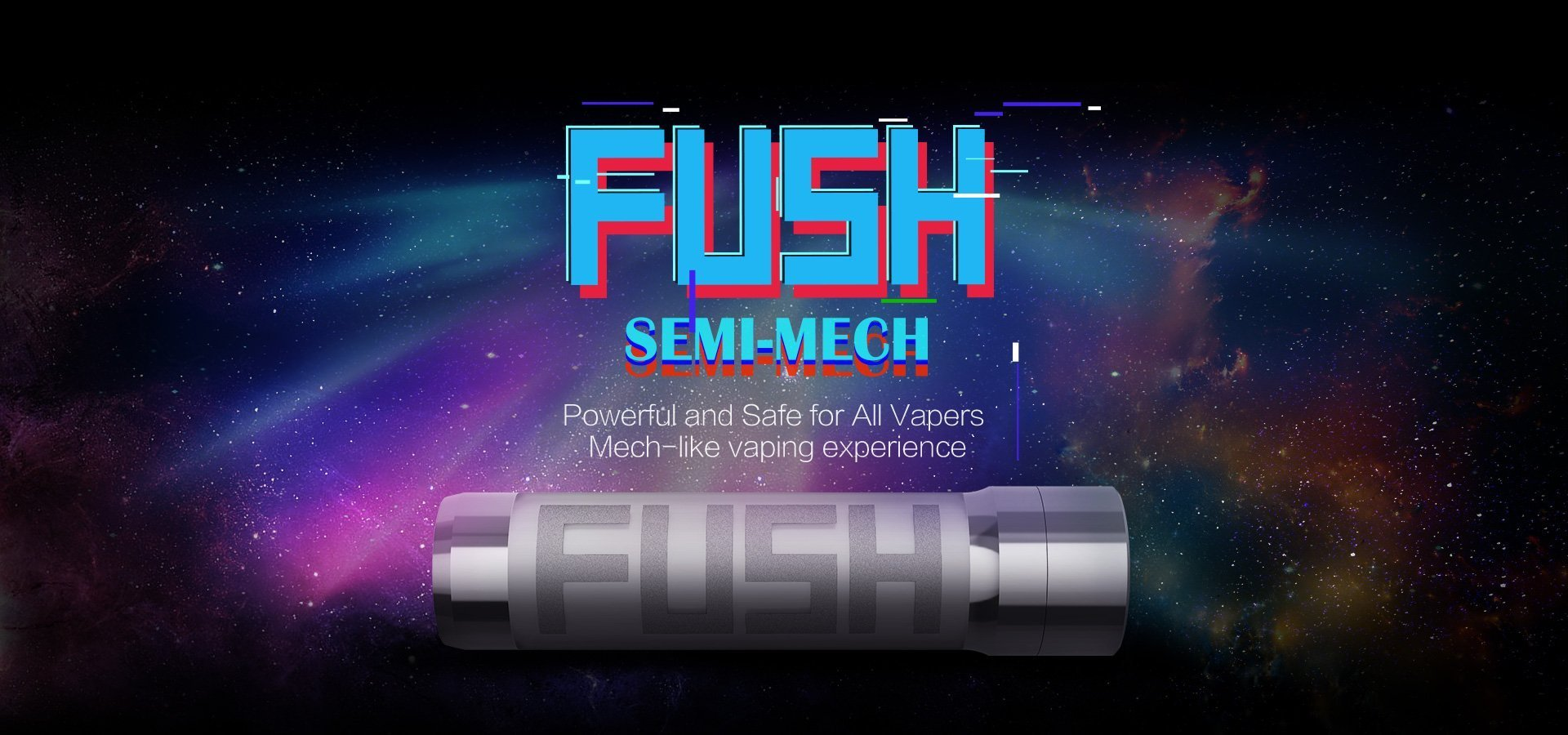 Acrohm Fush Semi Mech Mod Of Light Tube With Protection